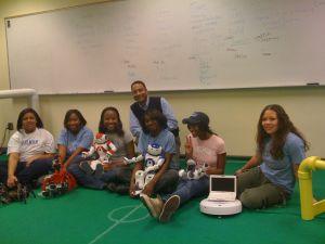 Naquasia, Ariel, NeeCee, Jazmine, Mimi, Tajiana , Dr. Andrew Williams